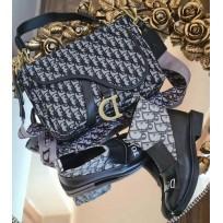 Дамски боти и чанта