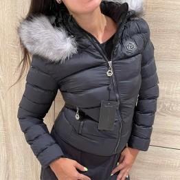 Дамско яке с лисица