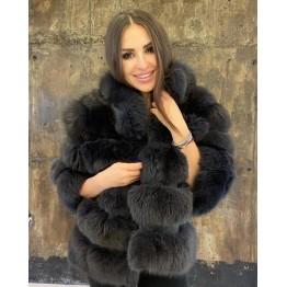 Дамско палто от лисица