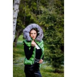 Дамски елек с лисица